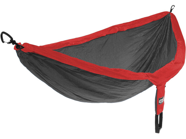 ENO DoubleNest Hammock Red/Charcoal